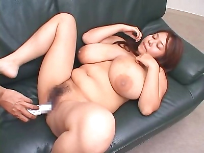 Asian with huge boobs gets..