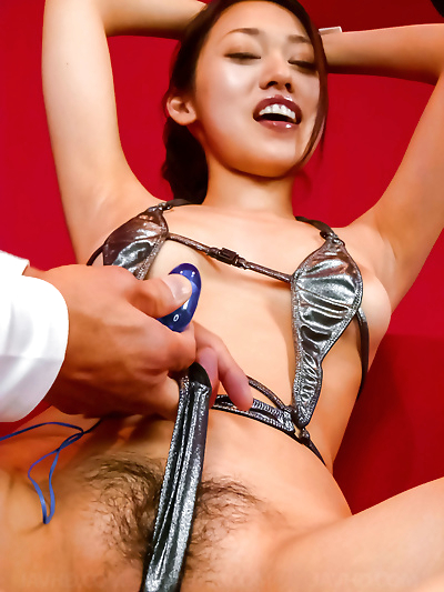 Japanese kinky sex toy play..