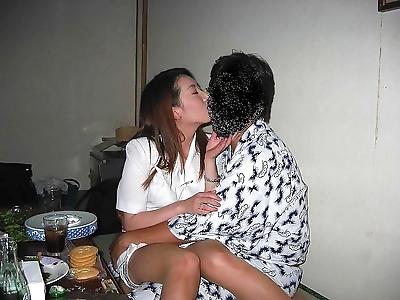 Kinky asian girls fucked in..