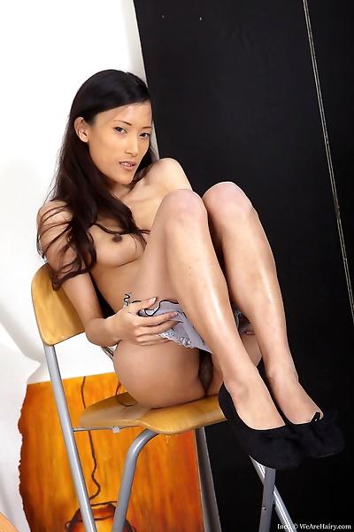 Skinny Asian girl Inco..