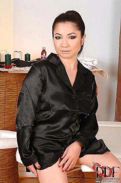 Beautiful Asian Midori..