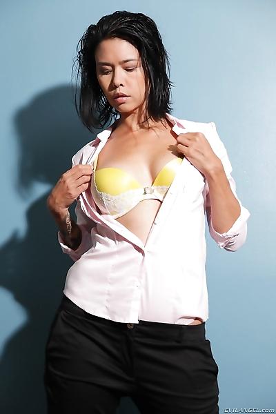 Asian female Dana Vespoli..