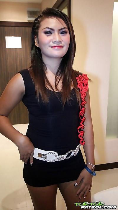 Petite Filipina girl earns..