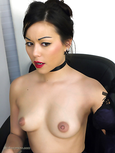 Wonderful Asian secretary..