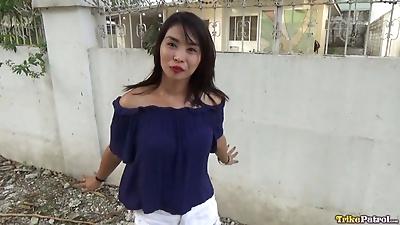 Tattooed Filipina bargirl..