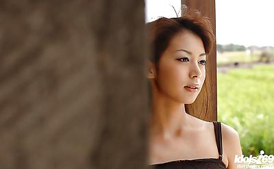 Fuckable asian babe in fancy..