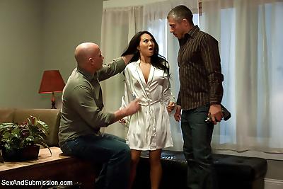 Asa akira in anal bondage..