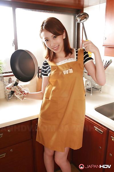 Yui saejima displays her..