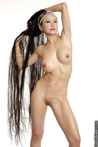 Asian vixen ange venus with..