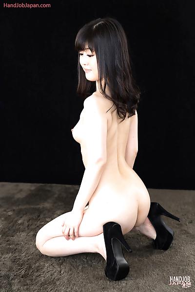 Japanese girl undresses..