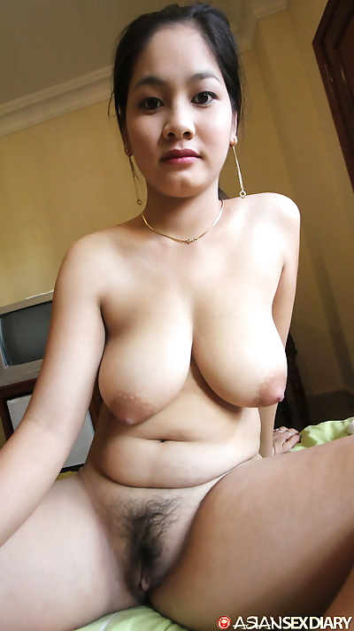 Busty Cambodian girl gets..