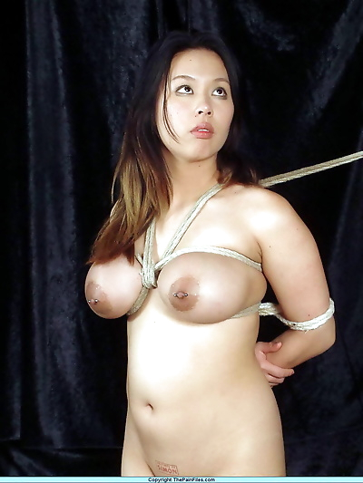 Chubby Asian girl with big..