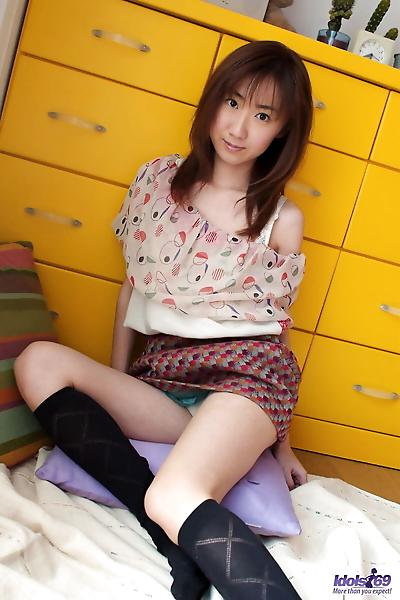 Cute Japanese teen Anna..