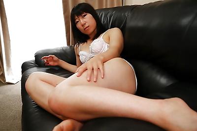 Asian housewife Aiko Kurita..