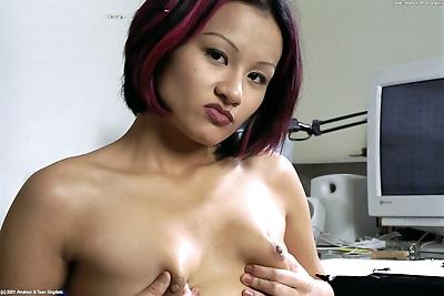 Asian amateur Jade..
