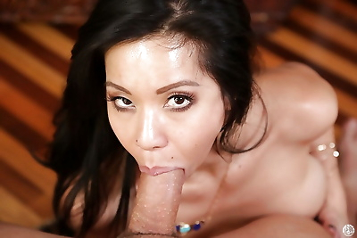 Big cock is penetrating tight hole of brunette mom Kimmy Lee