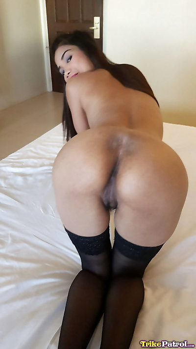 Sexy Asian girl wears cum on her face after teasing a guy POV style